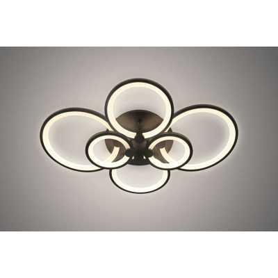 Светильник потолочный светодиодный ALM Lighting M0061-6 BK