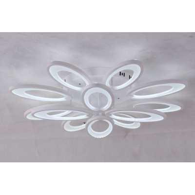 Светильник потолочный светодиодный ALM Lighting M050 8+4  WH
