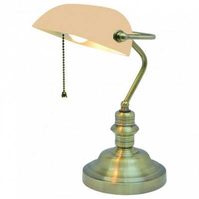 Настольная лампа офисная Arte Lamp Banker A2493LT-1AB