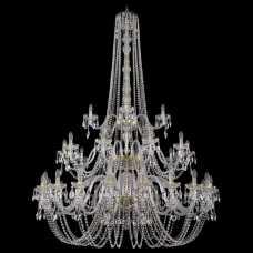 Подвесная люстра Bohemia Ivele Crystal 1402 1402/20+10+5/530/h-206/3d/G