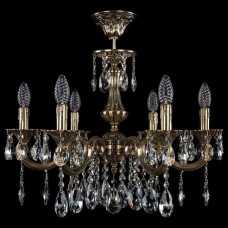 Люстра на штанге Bohemia Ivele Crystal 1702 1702/6/210/A/GB