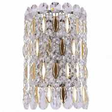 Накладной светильник Crystal Lux Lirica LIRICA AP2 CHROME/GOLD-TRANSPARENT
