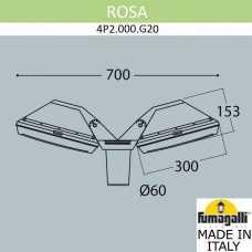 Светильник на штанге Fumagalli Guizeppe 4P2.000.G20.WYE28