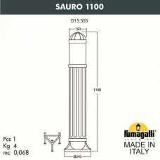 Наземный высокий светильник Fumagalli Sauro D15.555.000.WYE27