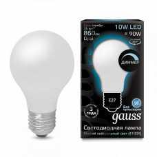 Лампа светодиодная Gauss 1022 E27 10Вт 4100K 102202210-D