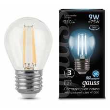 Лампа светодиодная Gauss 1058 E27 9Вт 4100K 105802209