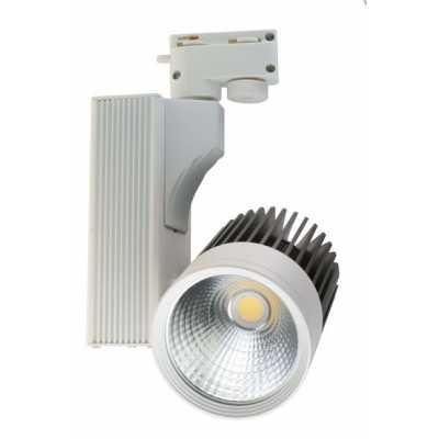 Светильник светодиодный трековый  DLP-22 BK 22W 4500K
