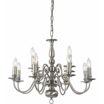 Люстра Подвесная Arte-Lamp ANTWERPEN A1029LM-8-4AB