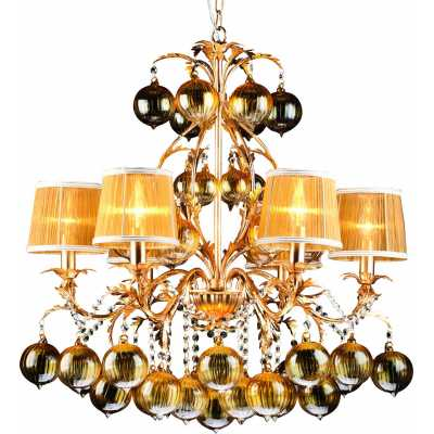 Люстра Подвесная Arte-Lamp MONARCH A1199LM-6GO