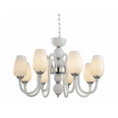 Люстра Подвесная Arte-Lamp LAVINIA A1404LM-8WH