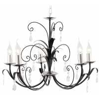 Люстра Подвесная Arte-Lamp ROMANA A1742LM-5BK