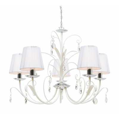 Люстра Подвесная Arte-Lamp ROMANA SNOW A1743LM-5WH