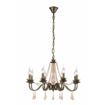 Люстра Подвесная Arte-Lamp ROSARIO A1832LM-8GA