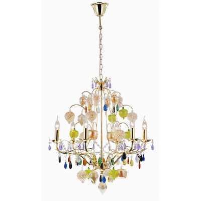 Люстра Подвесная Arte-Lamp RICCHEZZA A2011LM-6GO