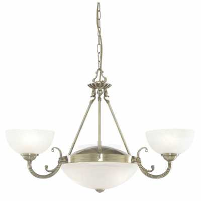 Люстра Подвесная Arte-Lamp WINDSOR WHITE A3777LM-3-2AB