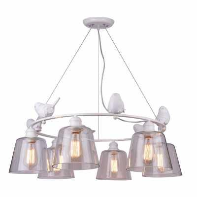 Люстра Подвесная Arte-Lamp A4289LM-6WH