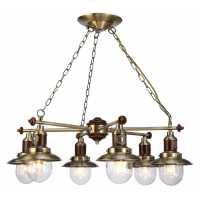Люстра Подвесная Arte-Lamp SAILOR A4524LM-6AB