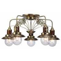 Люстра Потолочная Arte-Lamp SAILOR A4524PL-5AB