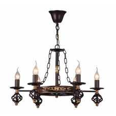 Люстра Подвесная Arte-Lamp CARTWHEEL A4550LM-6CK