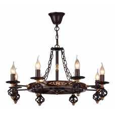 Люстра Подвесная Arte-Lamp CARTWHEEL A4550LM-8CK