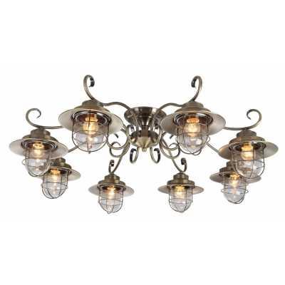 Люстра Потолочная Arte-Lamp LANTERNA A4579PL-8AB