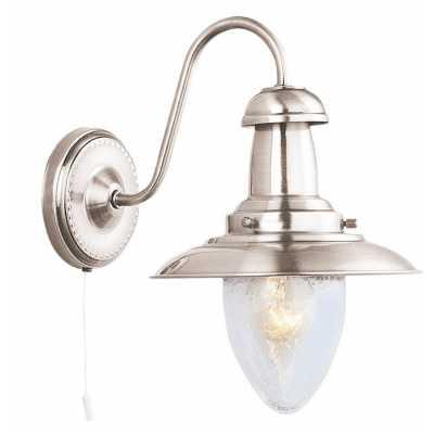 Бра Arte-Lamp FISHERMAN A5518AP-1SS