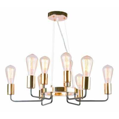Люстра Подвесная Arte-Lamp GELO A6001LM-9BK