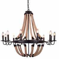 Люстра Подвесная Arte-Lamp MARSIGLIA A8956LM-12BK