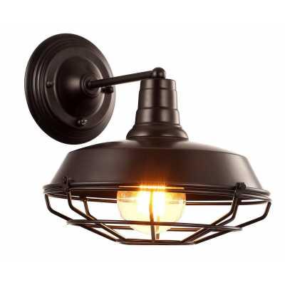 Бра Arte-Lamp PANDORA A9183AP-1BK