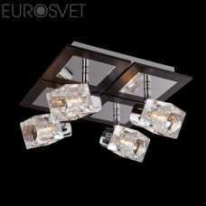 Бра EUROSVET Аллегро 20141/4 хром/венге