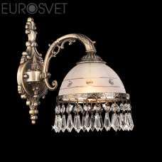 Бра EUROSVET 22823 22823/1 античная бронза