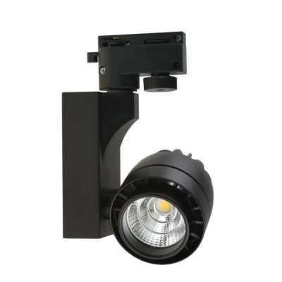 Светильник светодиодный трековый  DLP-16 BK 15W 4500K