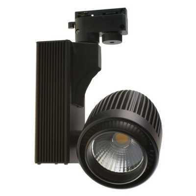 Светильник светодиодныйтрековый  DLP 30 BK 30W 4500K