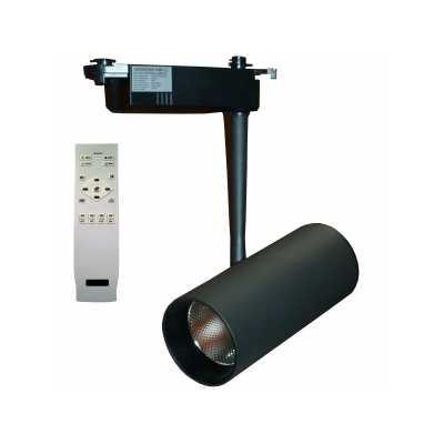 Светильник светодиодныйтрековый  DLP 30T BK 30W 3000-6000K с пультом
