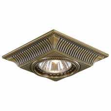 Встраиваемый светильник Reccagni Angelo 1084 SPOT 1084 BRONZO