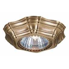 Встраиваемый светильник Reccagni Angelo 1096 SPOT 1096 Bronzo