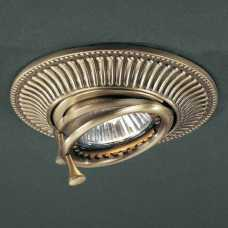 Встраиваемый светильник Reccagni Angelo 1082 SPOT 1082 BRONZO