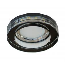 AG 753 CHR/BK Светильник встраиваемый с LED подсветкой