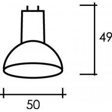 LED MR16 E 7W 3000K Лампа светодиодная