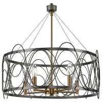 Подвесной светильник Vele Luce Stradivario 742 VL4104P05
