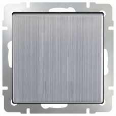 Выключатель одноклавишный без рамки Werkel Глянцевый никель WL02-SW-1G